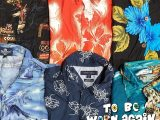 Vintage Bulk Wholesale – Hawaiian Shirt Mix – 10 Pieces