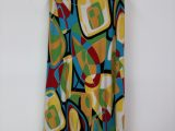 Vintage 2000s Funky Abstract Colourful Skirt