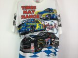 RARE Vintage 1996 Dale Earnhardt Chase Authentics All Over Print T-Shirt