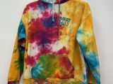 Vintage Ocean City Maryland Rainbow Tie Dye Hoodie